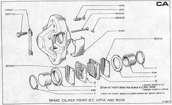 Lotus Parts Diagram