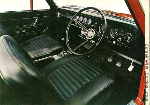 1965 Cortina GT, Corsair & Lotus Cortina Brochure