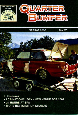 the lotus cortina register publishes a very nice small format newsletter of approximately 40 pages per issue color photographs are on the cover and back