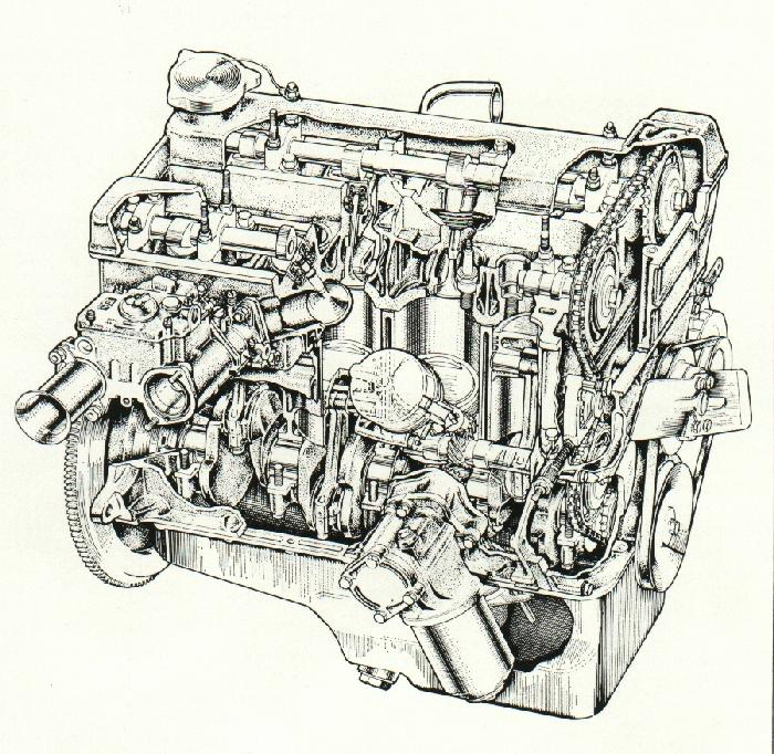 general description of the lotus cortina twin cam cylinder head