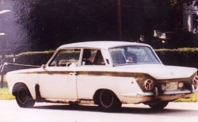 in a photograph taken at the wedding of my best friend don siegel and his new bride in 1980 the car was only 14 years old at that time
