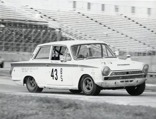 Don Gwynne's ex-factory Lotus Cortina