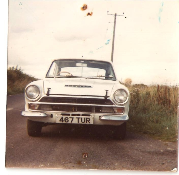 1 of many Lotus Cortinas from Joe Johnston's past.