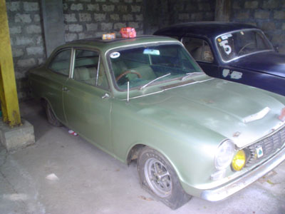 Ogle Cortina GT Found!!!!
