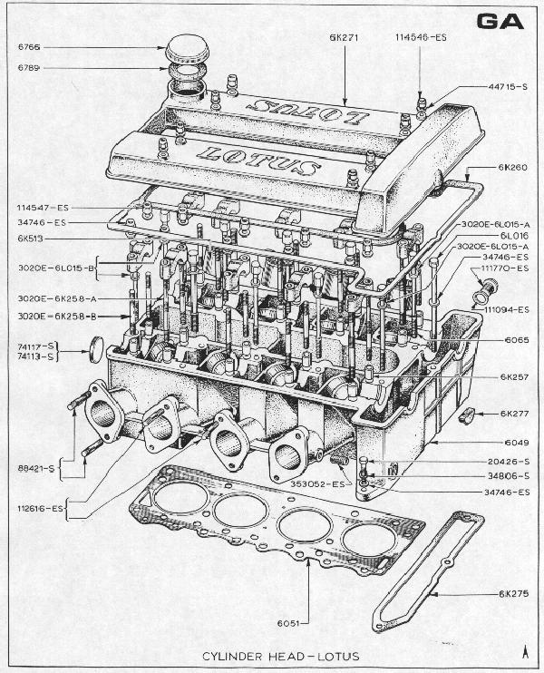 Ford Cortina Engine Diagram