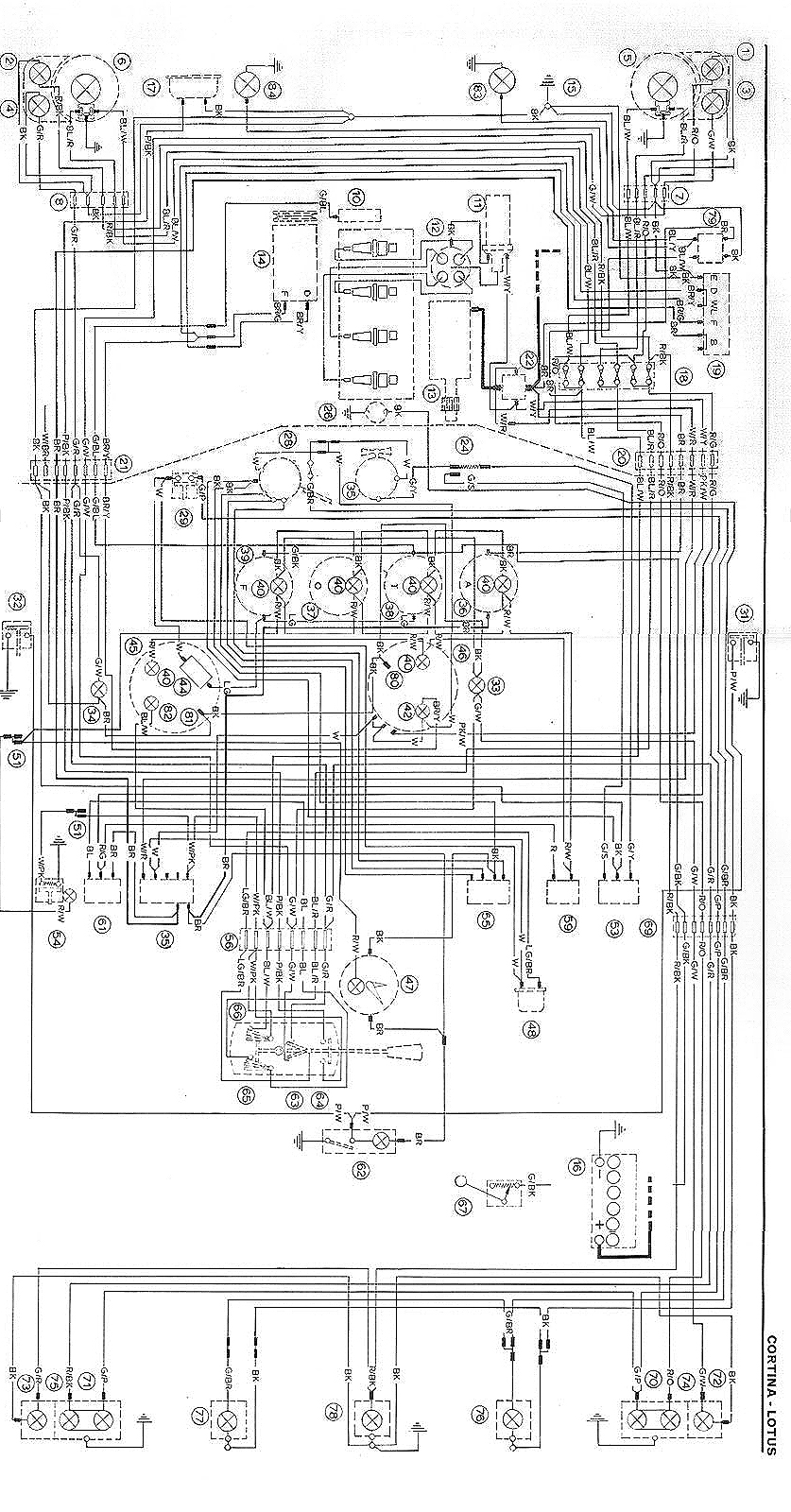 Ford Mk2 Wiring Diagram Data Electrical Diagrams Pdf Lotus Cortina Click For Larger Image