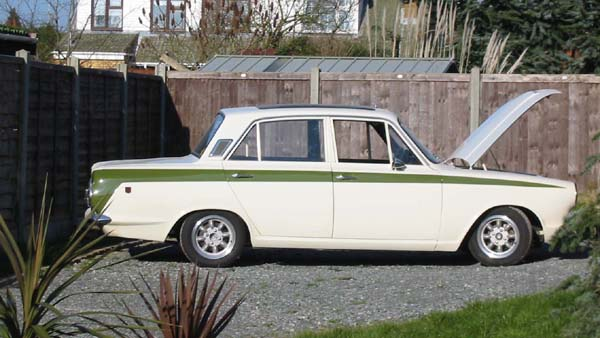 Gt Out on 1970 Ford Cortina For Sale