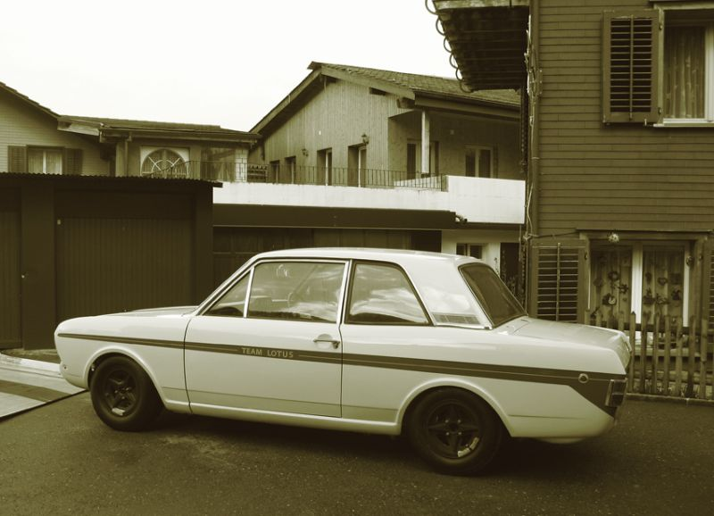 Ex Works Mk2 Lotus Cortina Now In Switzerland